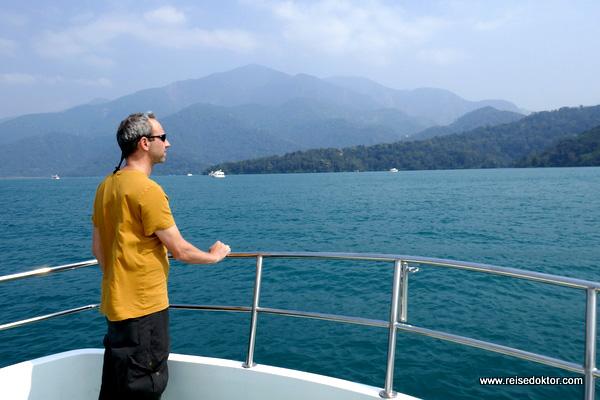 Bootsfahrt am Sun Moon Lake