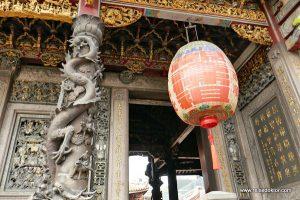 Bronzesäule Longshan Tempel