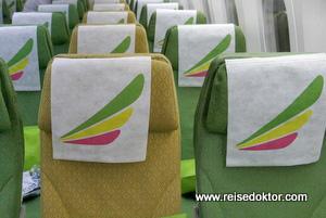 Ethiopian Airlines Sitze Economy
