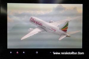 Ethiopian Airlines Bordunterhaltung