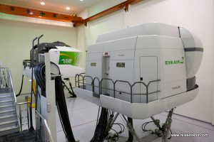 Eva Air Flugsimulator