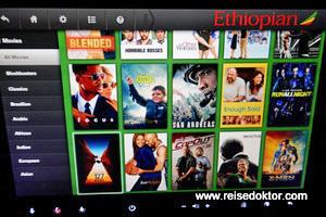 Filmprogramm Ethiopian Airlines