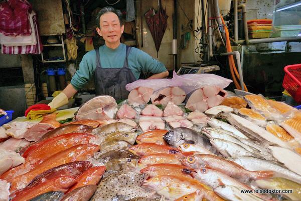 Fisch Markt Taipeh