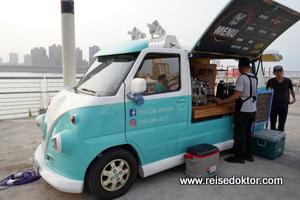 Kaffeestand in Taipeh