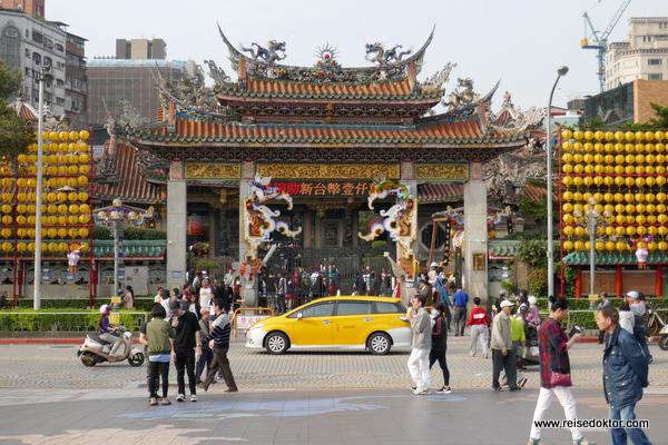 Longshan Tempel Taiwan