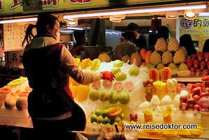 Nachtmarkt in Taipeh