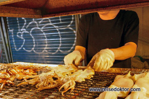 Straßenküche Shilin Nachtmarkt
