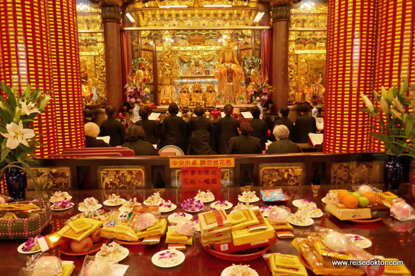 Tianhou Tempel Taipeh