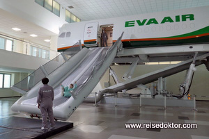 Training Stewardessen Eva Air