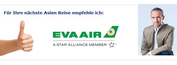 Eva Airways Empfehlung