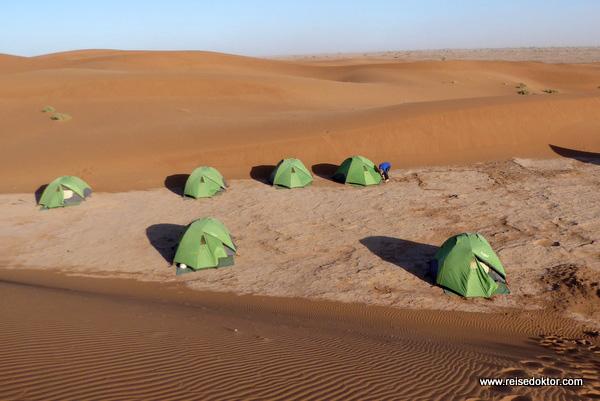 Zeltplatz Marokko