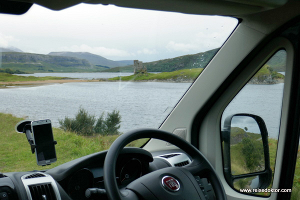 Camping Ardvreck Castle