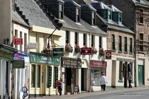 Straße in Invernes