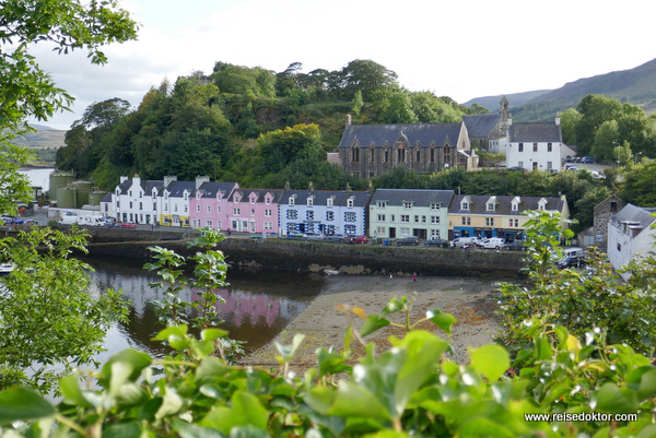 Portree in Schottland