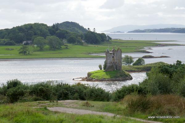 Stalker Castle in Schottland