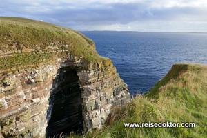 Steilklippe in Irland