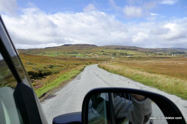 Straße Isle of Skye