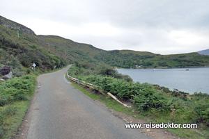 Straße in Schottland