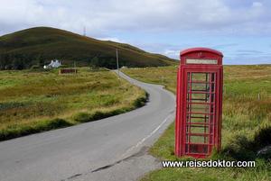 Telefonzelle Schottland