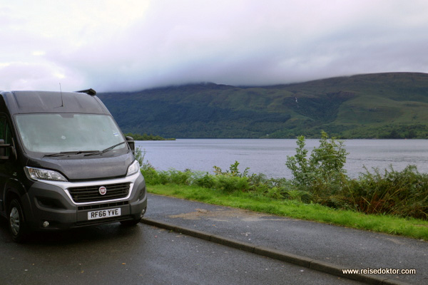 Wohnmobil in Schottland
