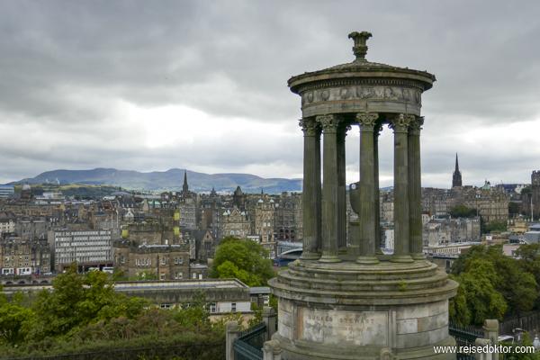Edinburgh Stadtansicht