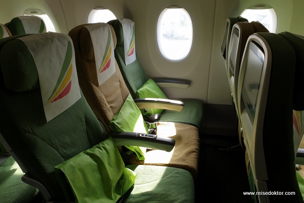 Economy Class Ethiopian Airlines