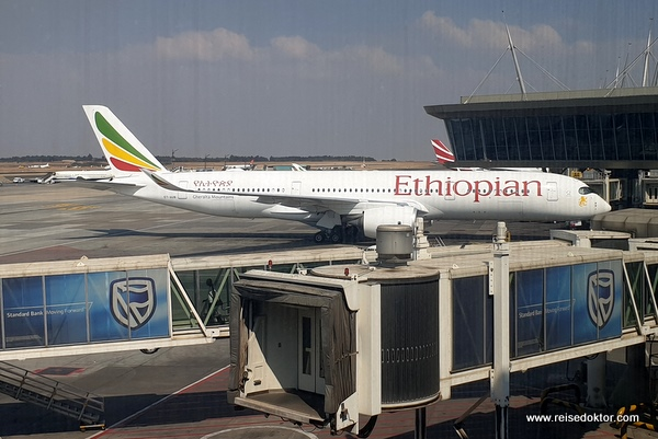 Ethiopian Airlines Johannesburg