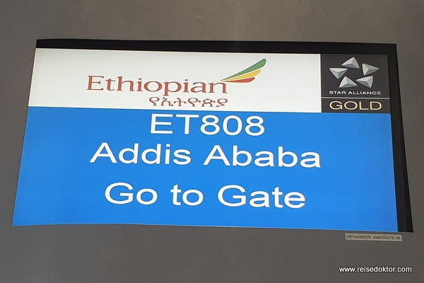 Go to Gate Ethiopian Airlines